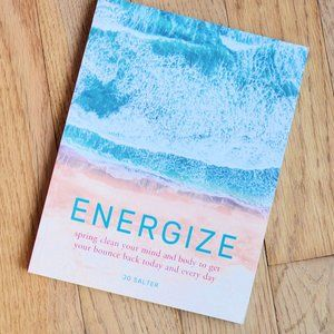 3/$25 Energize Softcover Book